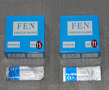 FEN DISPOSABLE SURGICAL BLADES